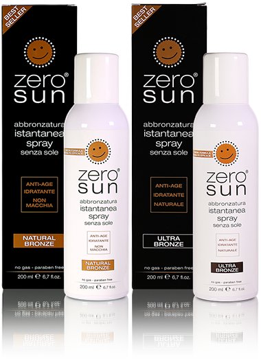 ZEROSUN NATURAL BRONZE e ZEROSUN ULTRA BRONZE